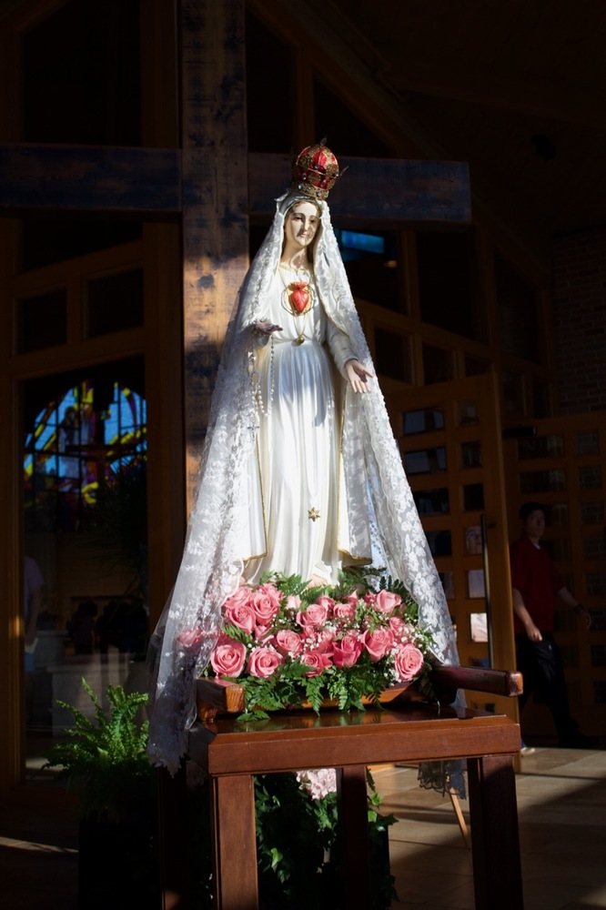 May 13, 2018 - Fatima Rosary Procession   St Laurence